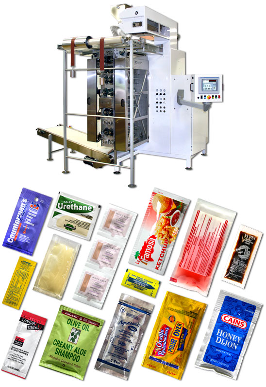 Liquid Product Form-Fill-Seal Machine - Circle Packaging
